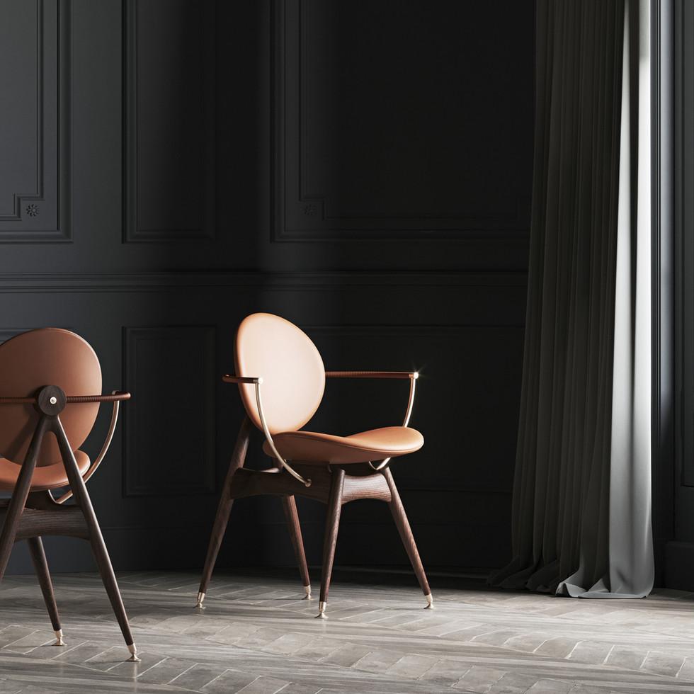 / Circle chair /