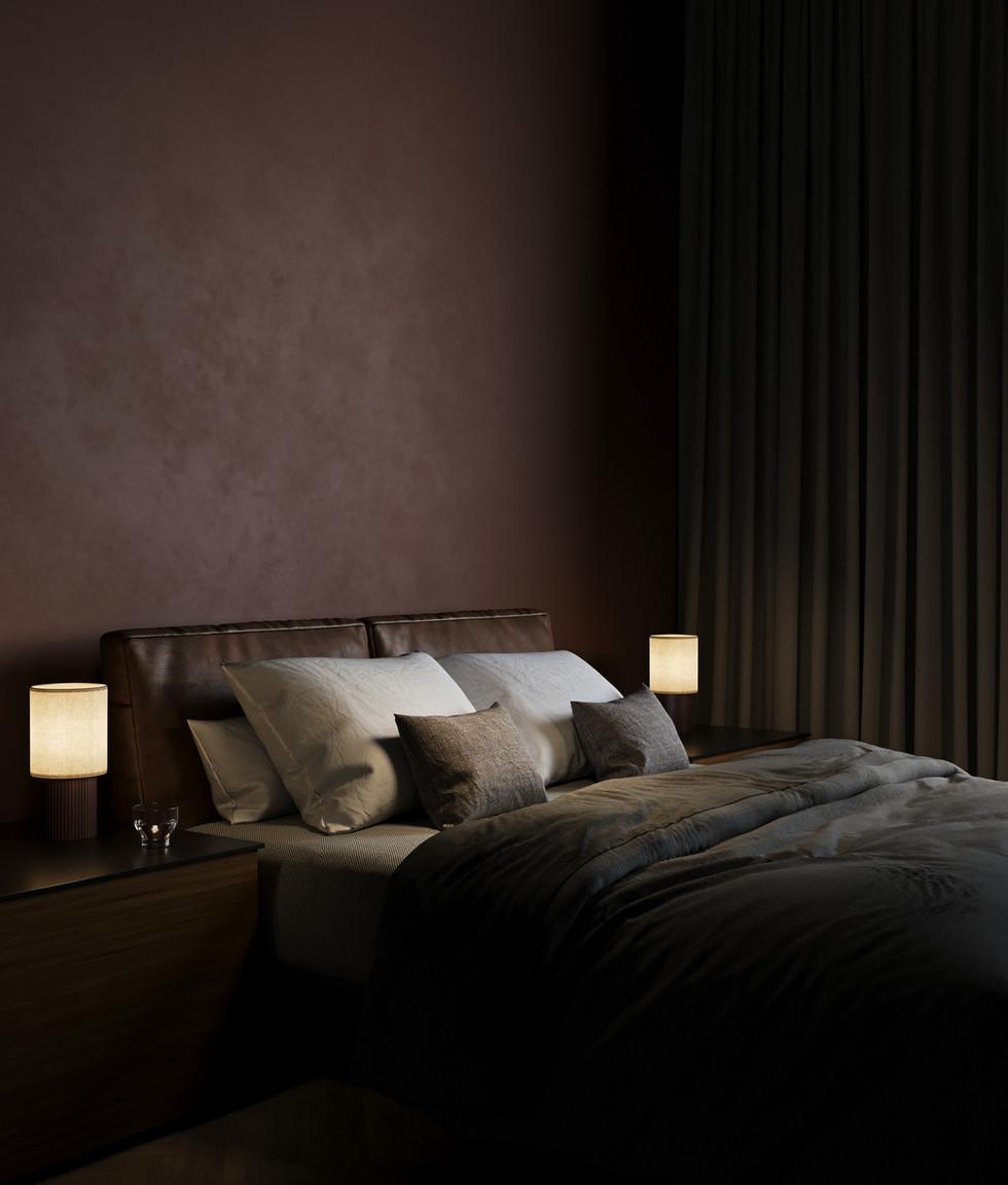 / Warm styling bedroom /