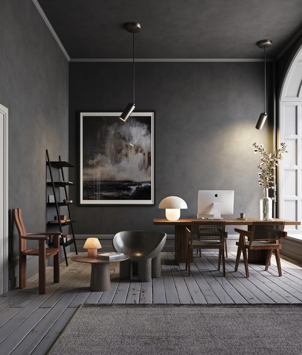 / Scandinavian Office /