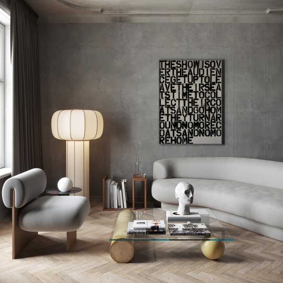 / Stockholm living room /