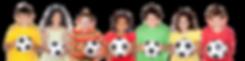 ילדים עם כדורגל