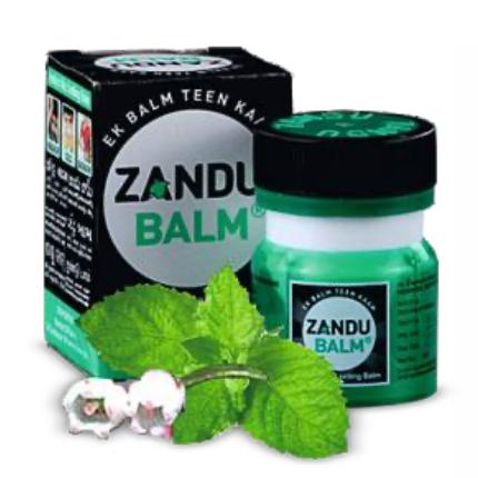 Zandu Balm capped bottle