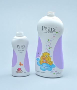 Pears Baby Shampoo bottles
