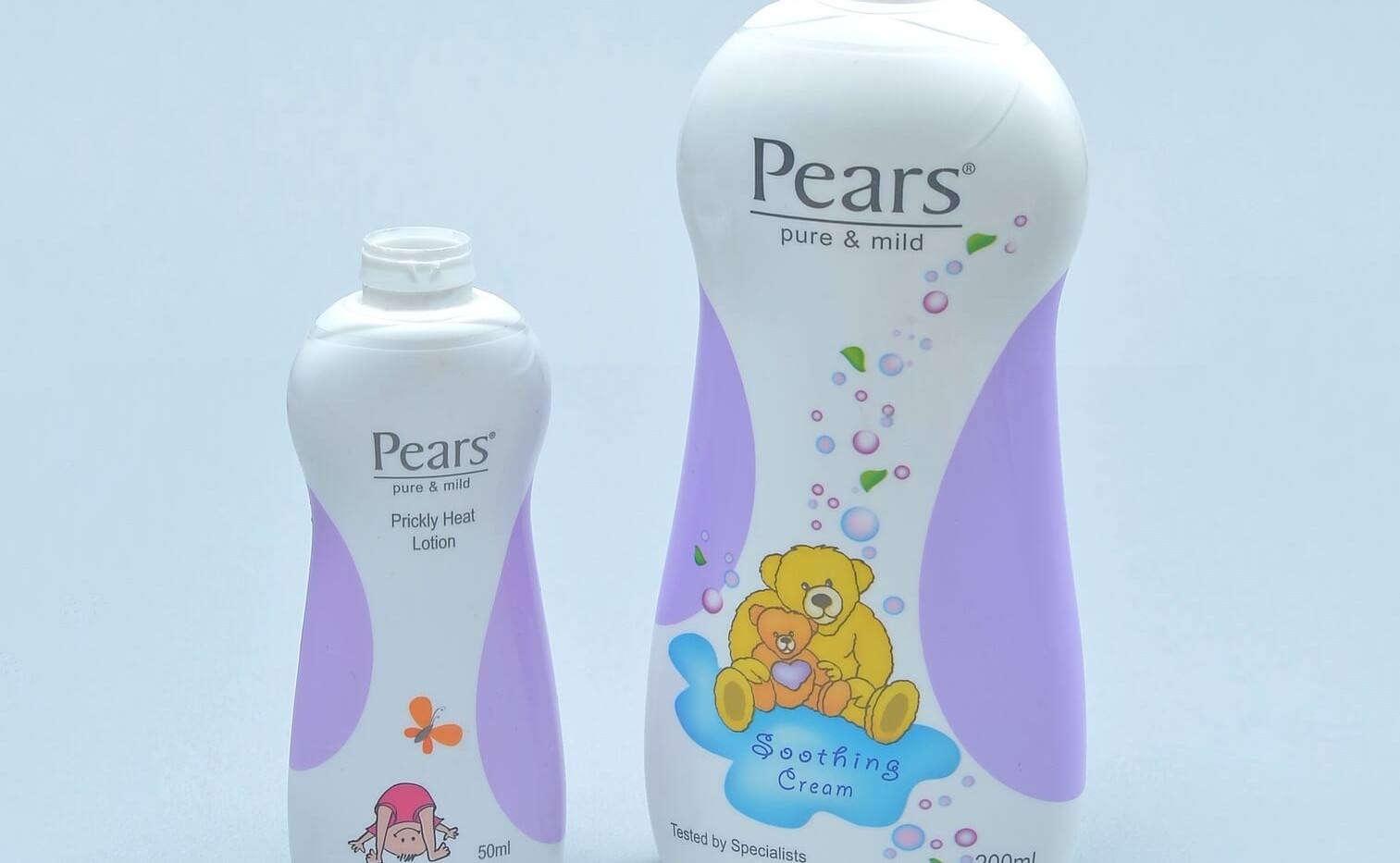 Pears Baby Shampoo shrink sleeved bottle