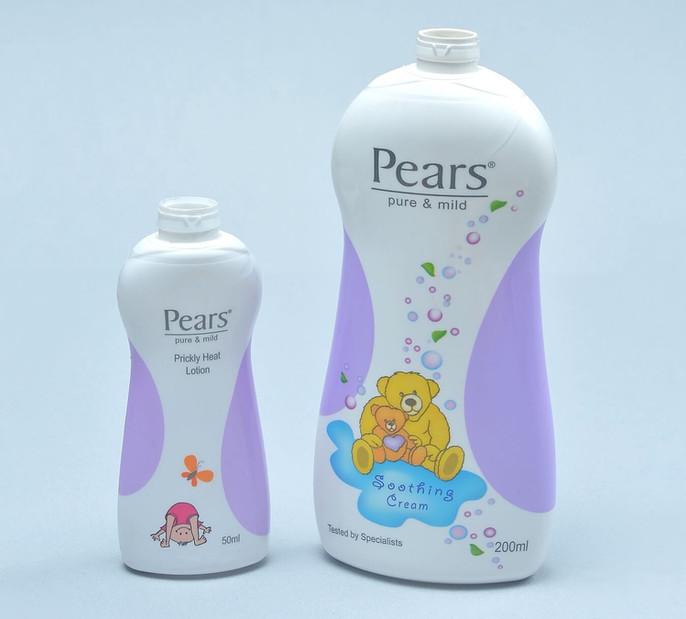 Pears Baby Shampoo shrink sleeved bottle