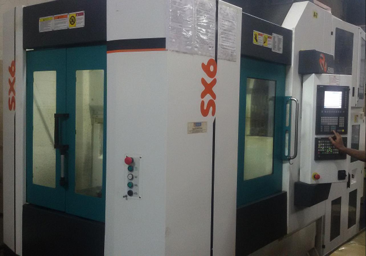 6-axis CNC Machine