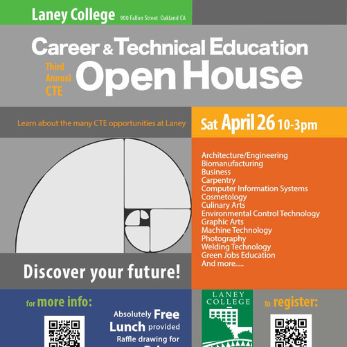 Laney College Open House Flyer