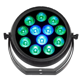 Unique and aggressive, the new RADIANT PAR QUAD12 delivers smooth and bright light shows. Controls include DMX and sound active.   MAP: $179.99