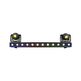 The VERSA FLEX BAR allows you to fully customize its look - the ultimate all in one lighting solution for your next event.  MAP: $899.99
