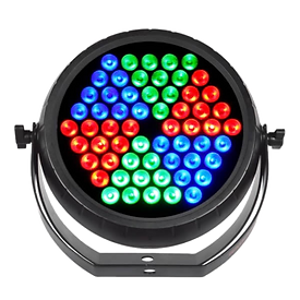 Bright and colorful, the new RADIANT PAR TRI60 delivers unbelievable brightness. Controls include DMX and sound active.     MAP: $159.99
