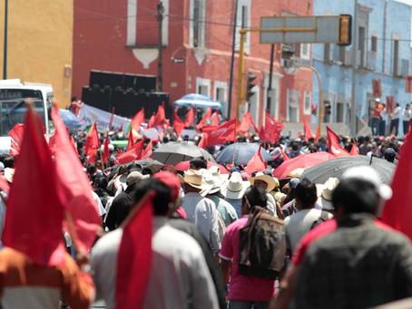 Antorcha Campesina busca ser partido político