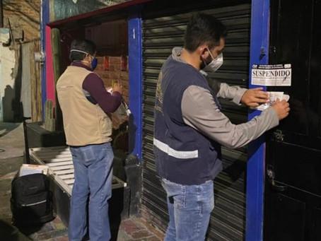 SUMAN MÁS DE 300 COMERCIOS CLAUSURADOS POR NO ACATAR DISPOSICIONES SANITARIAS