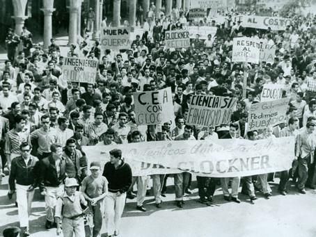 En el movimiento de Reforma Universitaria de 1961 no había hombres, todos éramos chamacos