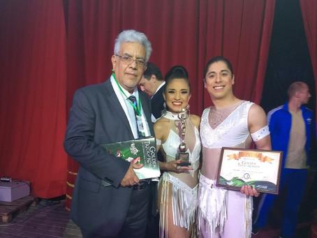 Artistas mexicanos conquistan el bronce en el Festival de Circo de Ucrania.