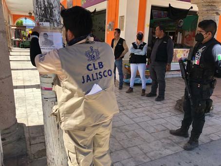 COMISIÓN LOCAL DE BÚSQUEDA REALIZA ACCIONES DE BÚSQUEDA GENERALIZADA EN LÍMITES DE JALISCO Y NAYARIT