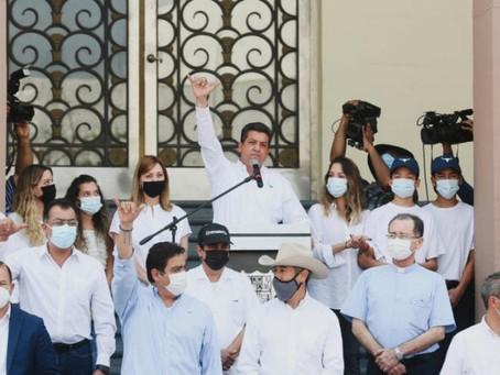 GOBERNADOR FRANCISCO CABEZA DE VACA AFIRMA QUE ACUSACIONES EN SU CONTRA SON MENTIRAS