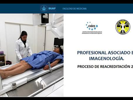 Recibe acreditación de CIEES Profesional Asociado en Imagenología de la Facultad de Medicina de BUAP