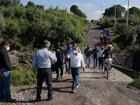Las Juntas Auxiliares se encuentran en completo abandono: Saúl Huerta