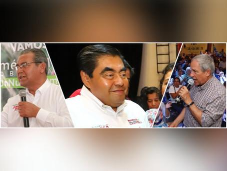 Concluyen candidatos a gubernatura de Puebla sus campañas