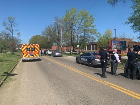 Un oficial de Policía figura entre los afectados por el episodio de violencia armada.