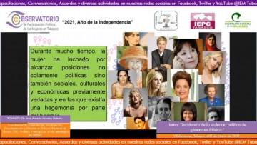 Trabajar para promover y difundir derechos políticos de mujeres: Morales Notario