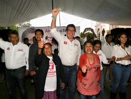 Hoy más que nunca San Andrés quiere el cambio que representamos: Salvador Castañeda