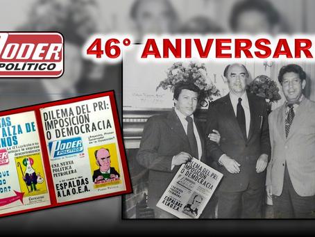46° Aniversario Periódico Poder Político