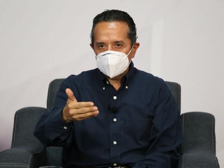 Quintana Roo tiene un 12% de ocupación hospitalaria, 9 camas con ventilador y 21 personas intubadas