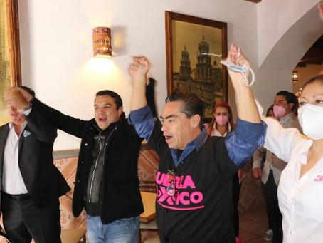 Rafael Moreno valle Buitrón se postulara a candidato de FXM por la alcaldía de Puebla