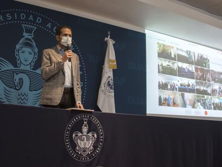 Rector Alfonso Esparza toma protesta a las y los nuevos integrantes de los Consejos de Unidad Académ