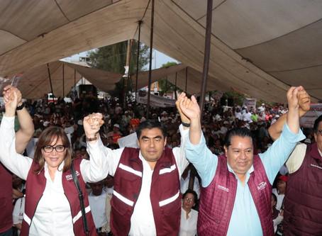 En esta campaña surgió el deseo de la transformación y del cambio: Barbosa Huerta