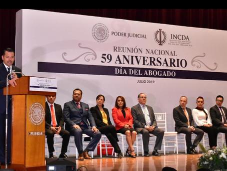 Se reúnen en Puebla Operadores de Justicia y Profesionales del Derecho para Intercambiar Experiencia