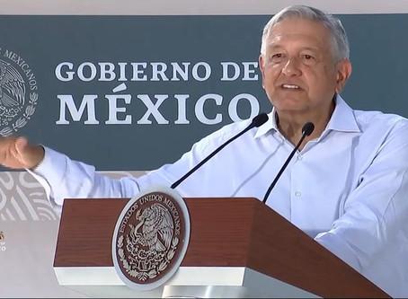 """""""No comer ansias"""": la respuesta de López Obrador a movilización de FRENAAA"""