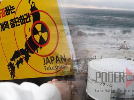 Japón verterá al mar agua tratada de la central nuclear de Fukushima