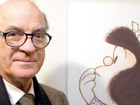 "Murió Quino, creador de ""Mafalda"""
