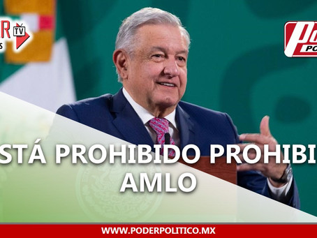 Presidente AMLO descarta usar cubrebocas tras contagiarse de COVID-19