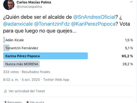 No más MORENA en San Andrés
