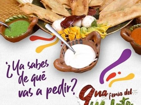 La 9° Feria del Molote en  San Pedro Cholula