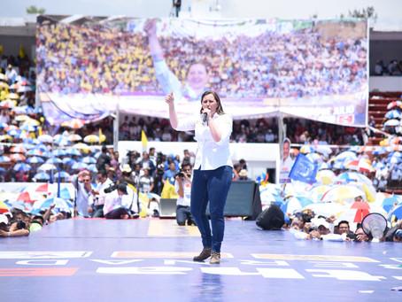 Puebla ya decidió y el 1° de Julio lo demostrará con Martha Erika, la primera mujer Gobernadora