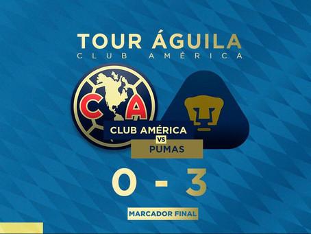Primer Clásico para Míchel con Pumas y le metió 3-0 al América