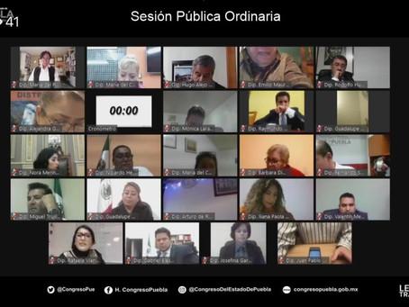 Congreso del estado  regula predios en Puebla y Amozoc