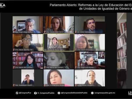 Congreso del estado realiza Abierto para enriquecer la iniciativa de reformas a la Ley de Educación