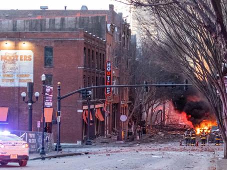 """Reportan que el FBI investiga si la explosión en Nashville fue por """"paranoia con el 5G"""""""