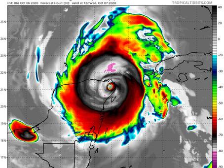 Delta avanza como categoría 4 rumbo a Quintana Roo, es potencialmente catastrófico