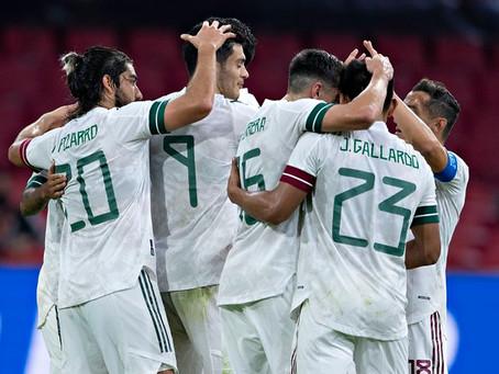 Con un Tecatito Corona inspirado, México venció 1-0 a Holanda en Amsterdam