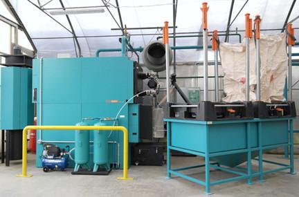 Caldaia Unit 430 Kw -Impianto Vivaistico-