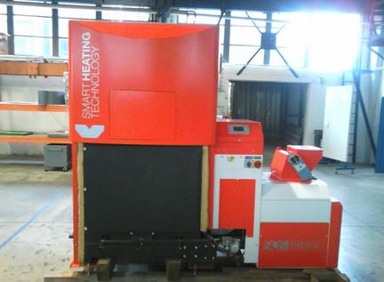 Caldaia Smart Heating 350 kW pellet