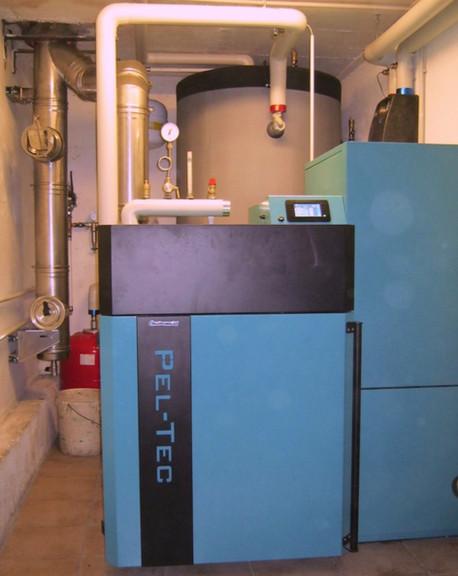 Caldaia a pellet Pel-Tec (12-48 kW)