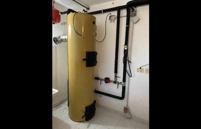 Progettazione ed installazione di un impianto con una caldaia Stropuva