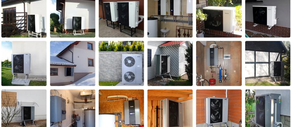 HEWALEX pompe di calore per il riscaldamento e il raffreddamento dell'edificio e per l'acqua calda